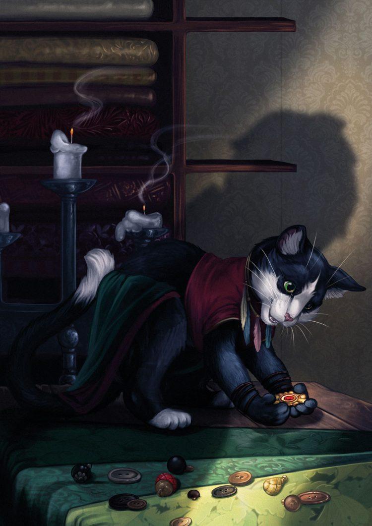 Die Schwarze Katze - Einbruch