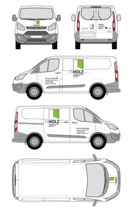 FS Holz Fahrzeugbeschriftung