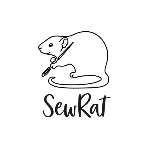 SewRat - Logo